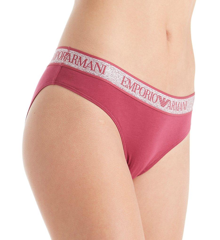 Emporio Armani - Emporio Armani 162525VC Visibility Stellar Cotton Brief Panty (Beaujolais S)