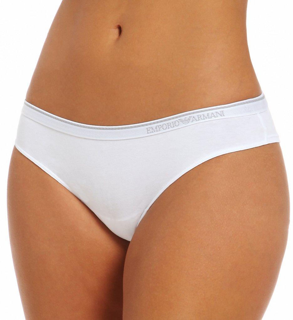 Emporio Armani - Emporio Armani 163316EC Essential Cotton Brief Panty (White L)