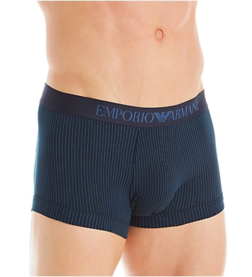 Emporio Armani Pattern Mix Trunks - 2 Pack