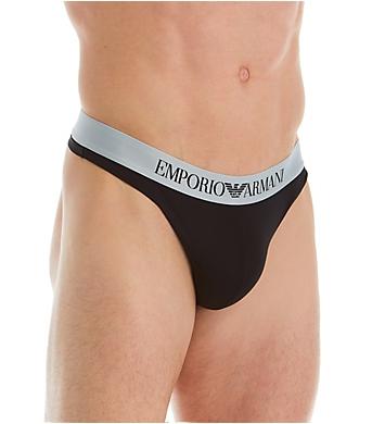 Emporio Armani Bonding Microfiber Thong