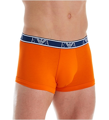 Emporio Armani Monogram Trunks - 3 Pack