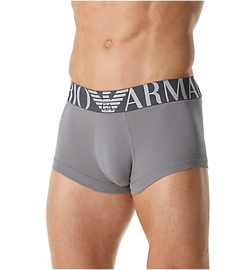 Emporio Armani Mega Logo Cotton Stretch Trunk