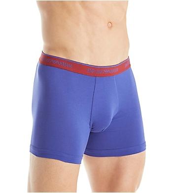 Emporio Armani Stretch Cotton Logo Band Boxer Briefs - 3 Pack