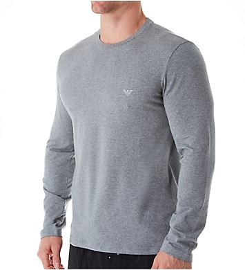 Emporio Armani Endurance Cotton Stretch Long Sleeve T-Shirt