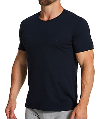 Emporio Armani Essentials Genuine 100% Cotton Crew Neck - 3 Pack