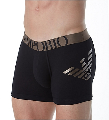 Emporio Armani 3D Eagle Print Cotton Stretch Boxer Brief