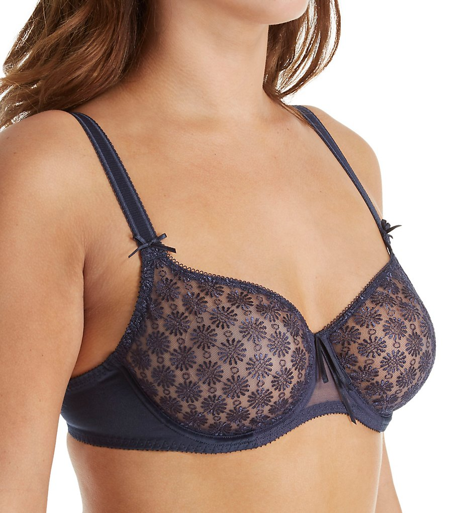 Empreinte : Empreinte 08167 Nikki Seamless Low-Necked Bra (Denim 30D)