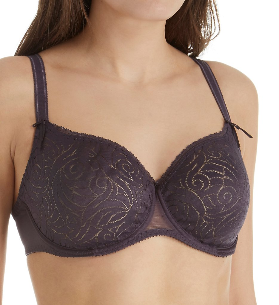 Empreinte - Empreinte 08173 Verity Seamless Low-Necked Bra (Ardoise 32C)