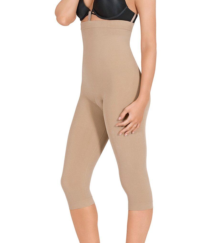 EuroSkins >> EuroSkins JS19 Seamless High Waist Capri Shaper (Nude XL)