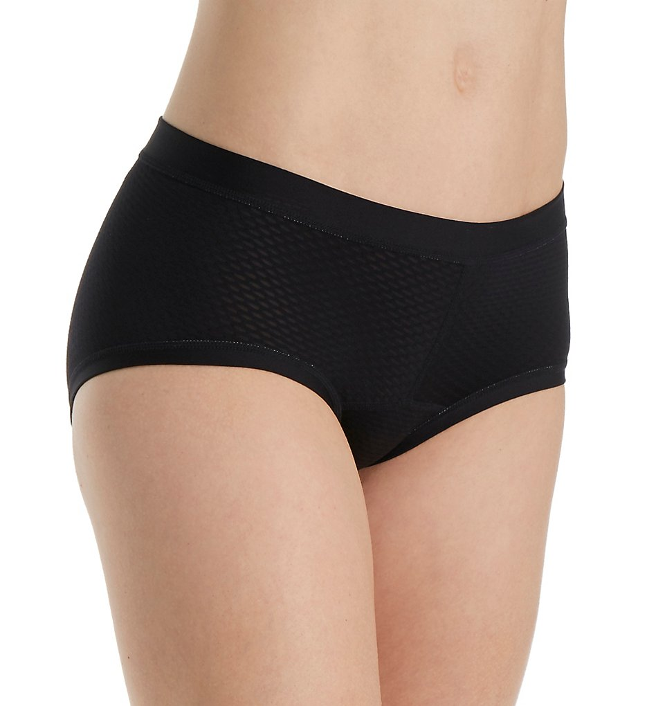 Ex Officio - Ex Officio 2252 Give-N-Go Sport Mesh Hipkini Panty (Black S)