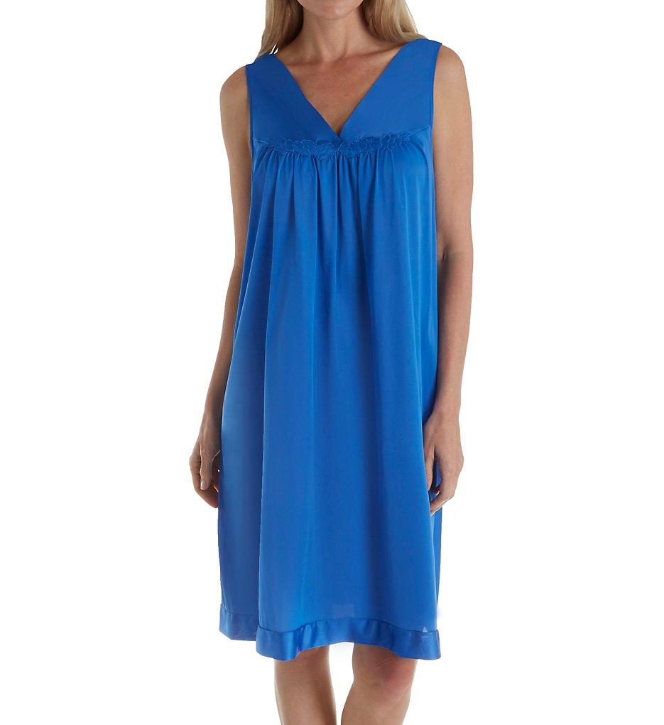 Vanity Fair Women\'s Coloratura Sleepwear Short Gown 30107 Small ...