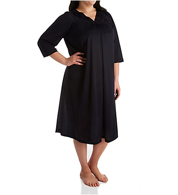 Exquisite Form Coloratura 3/4 Sleeve Long Nightgown