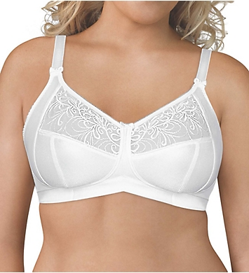 8c42e22507330 Exquisite Form Wirefree 4-Part Cup Bra with Embroidered Mesh 5100514 ...