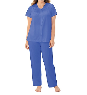 Exquisite Form Coloratura Vintage Short Sleeve Pajama Set