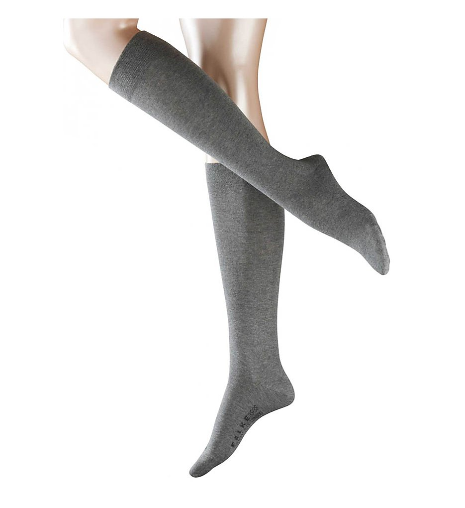 7a70320f8 Falke Sensitive London Cotton Knee Highs Hosiery - Women s Light Grey  Melane 1. About this product. Picture 1 of 2  Picture 2 of 2