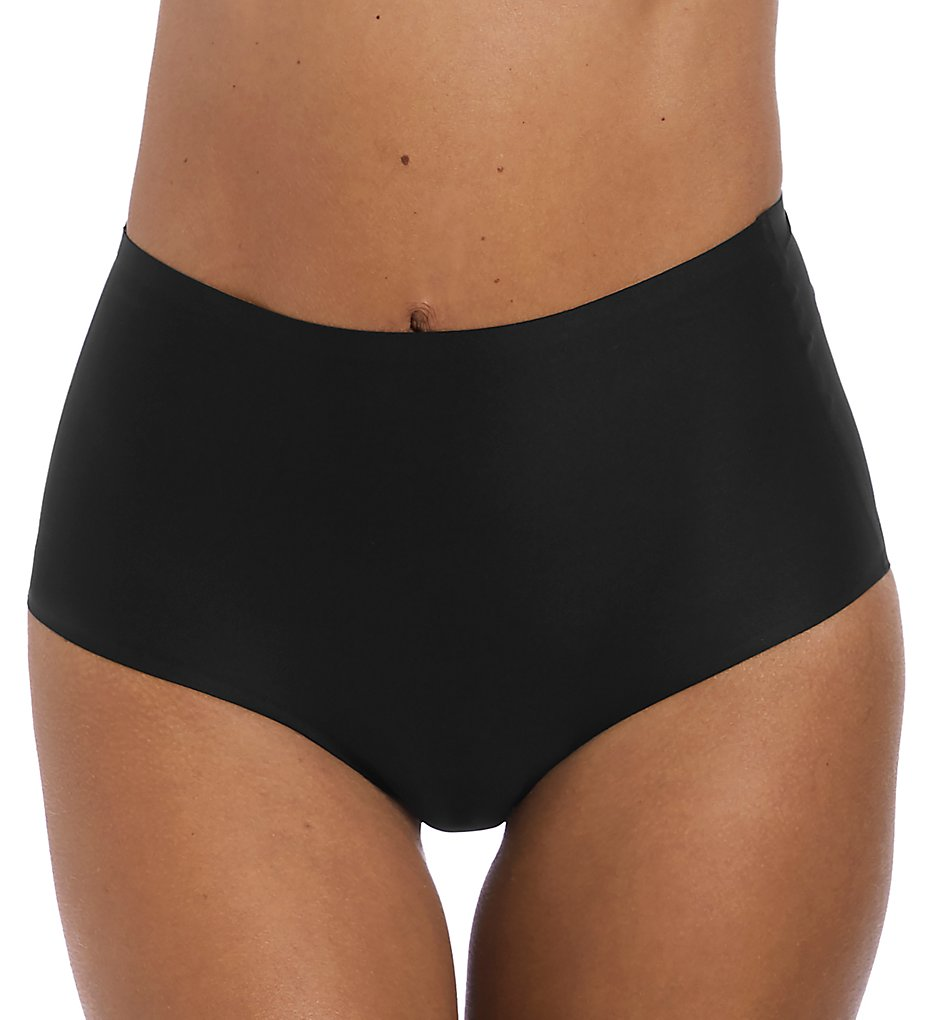 Fantasie - Fantasie FL2328 Smoothease Invisible Stretch Full Brief Panty (Black O/S)
