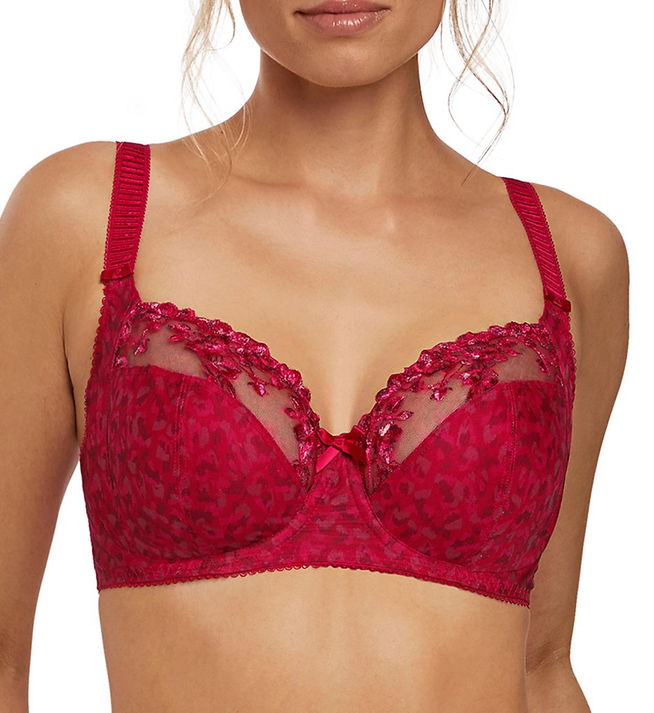 Fantasie - Fantasie FL2372 Lola Underwire Side Support Bra (Red 32DD)