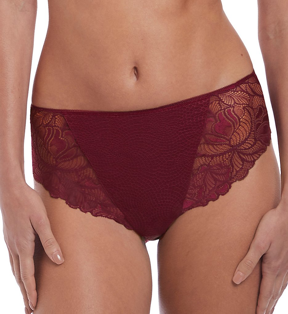 Fantasie - Fantasie FL3025 Memoir Full Brief Panty (Black Cherry 2X)