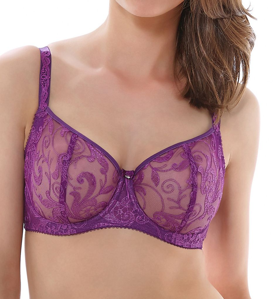 Fantasie Allegra Underwire Vertical Seam Embroidery Bra
