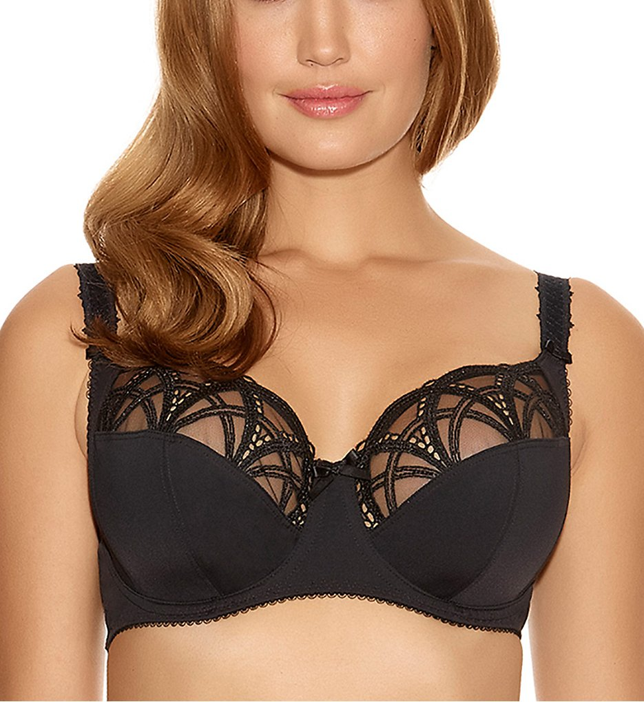 Fantasie - Fantasie FL9152 Alex Underwire Bra with Side Support (Black 30F)