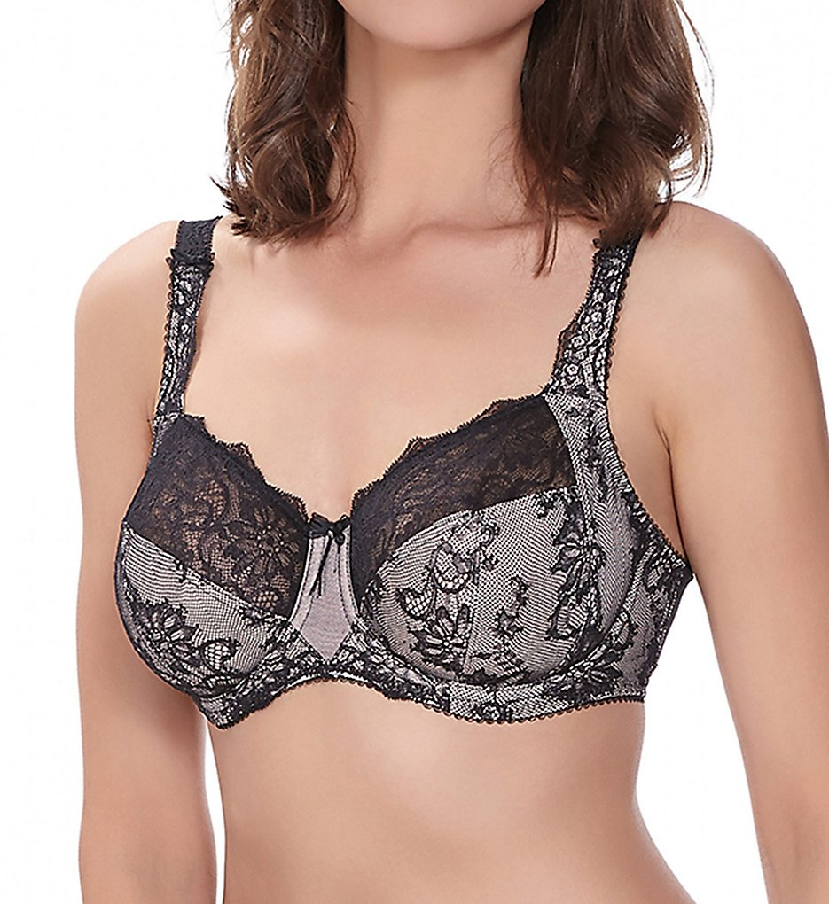Fantasie - Fantasie FL9332 Isabella Underwire Side Support Bra (Shadow 32DD)