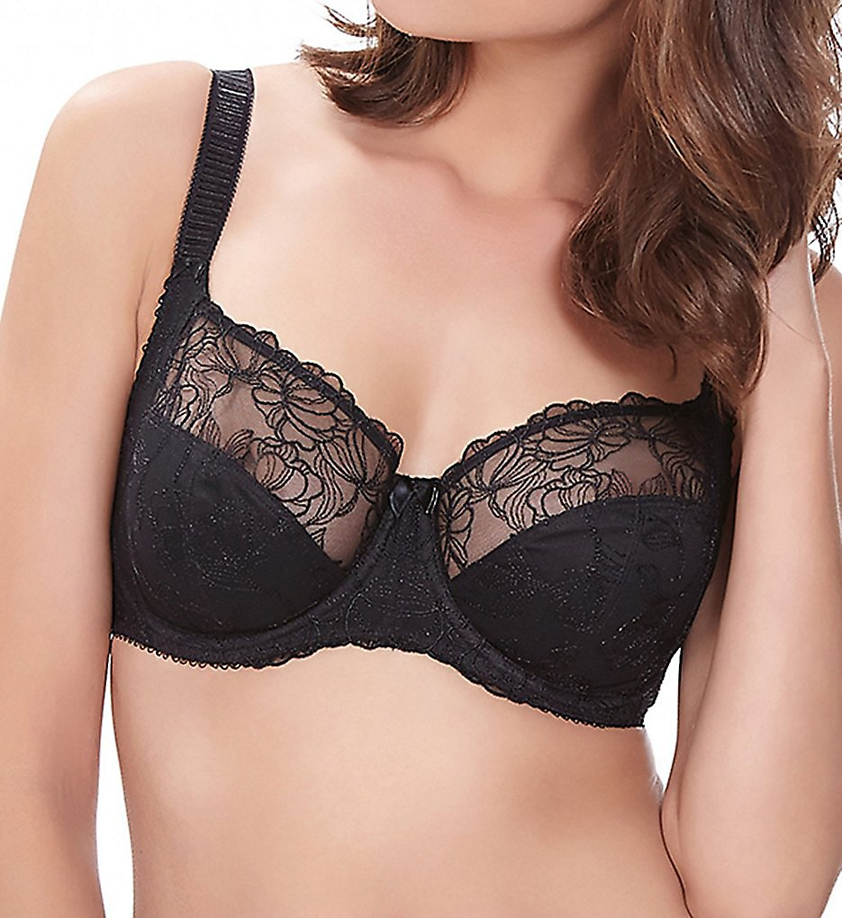 Fantasie - Fantasie FL9352 Estelle Underwire Side Support Bra (Black 30D)