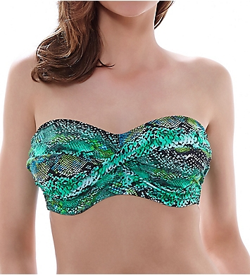 Fantasie Arizona Underwire Twist Bandeau Bikini Swim Top