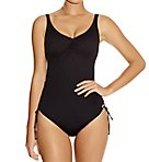 Versailles Underwire V-Neck Swimsuit