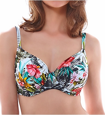 Fantasie Wakaya Underwire Gathered Full Cup Bikini Swim Top