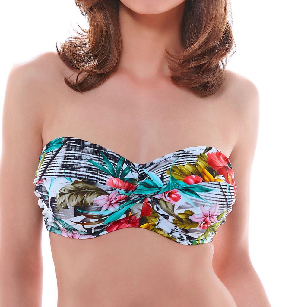 Fantasie Wakaya Underwire Twist Bandeau Bikini Swim Top