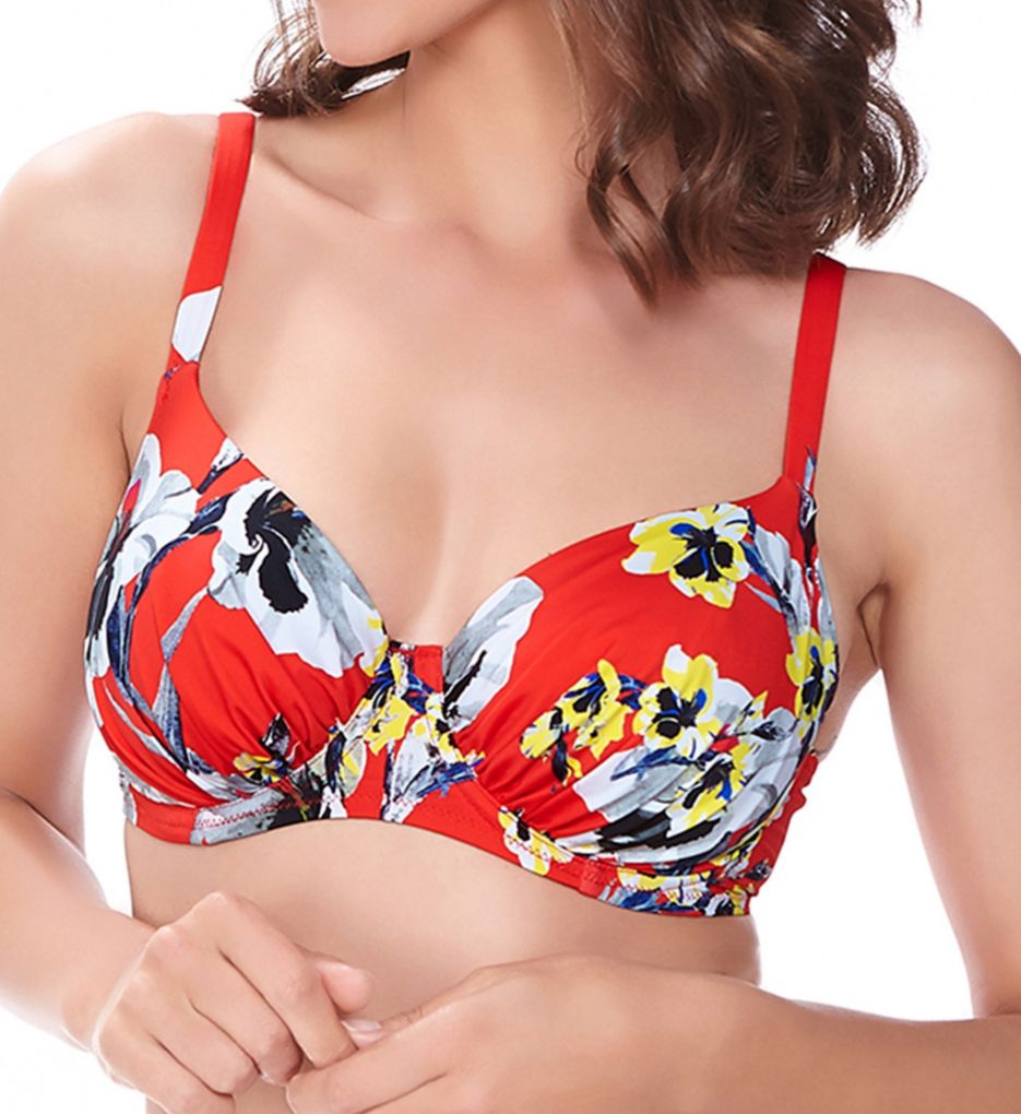 Fantasie Calabria Underwire Gathered Full Cup Swim Top