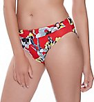Calabria Mid Rise Brief with Rings Swim Bottom