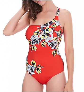 Fantasie Calabria Underwire Asymmetric One Piece Swimsuit