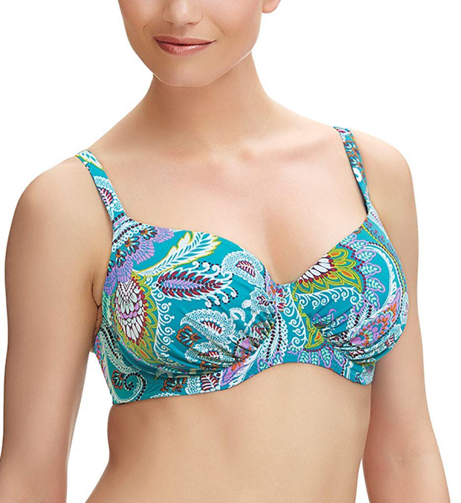 Fantasie Viana Underwire Gathered Full Cup Bikini Swim Top