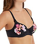Mustique Underwire Gathered Full Cup Swim Top