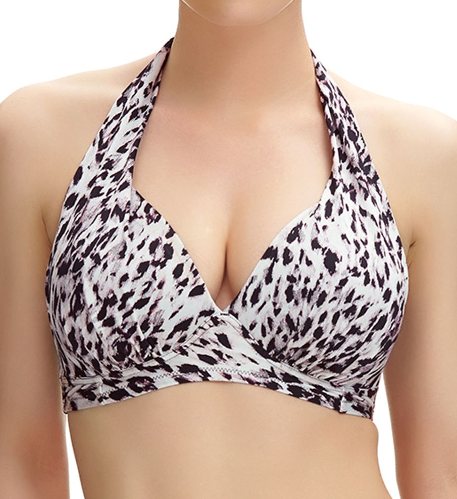Fantasie Masai Mara Wire Free Halter Bikini Swim Top