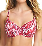 Lanai Underwire Gathered Balcony Bikini Swim Top