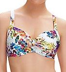 Agra Underwire Tie Front Balcony Bikini Swim Top