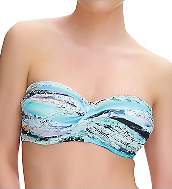 Fantasie Kiruna Underwire Twist Front Bandeau Swim Top