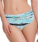 Kiruna Deep Gathered Mid Rise Brief Swim Bottom