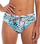 Fiji Classic Twist Brief Swim Bottom