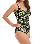 Palm Valley Underwire Twist Front Swimsuit