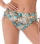 Manila Mid Rise Adjustable Leg Brief Swim Bottom