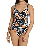 Port Maria Underwire Twist Front Swimsuit