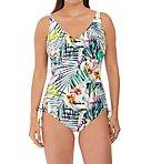 Playa Blanca Underwire V-Neck One Piece Swimsuit