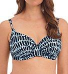 Kotu Underwire Gathered Full Cup Bikini Swim Top
