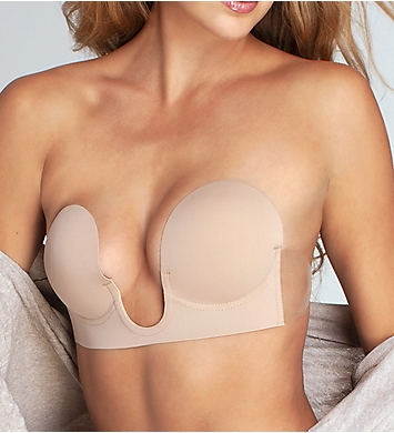 Seamless U-plunge Bra - Neutral Fashion Forms Top-Rated Real Cheap Price Discount Best Sale Outlet Store Locations Sale Best Place P5bZnG