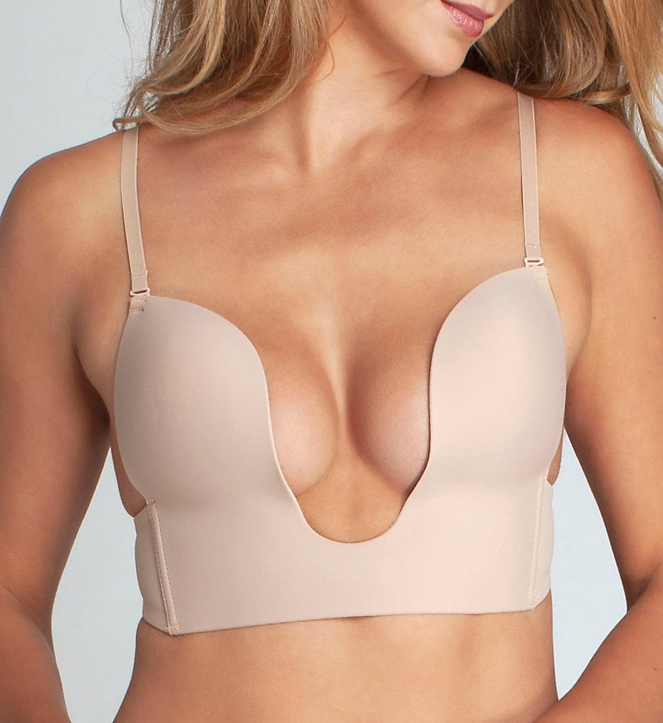 Fashion Forms 29678 Convertible Seamless U Plunge Bra (Nude)