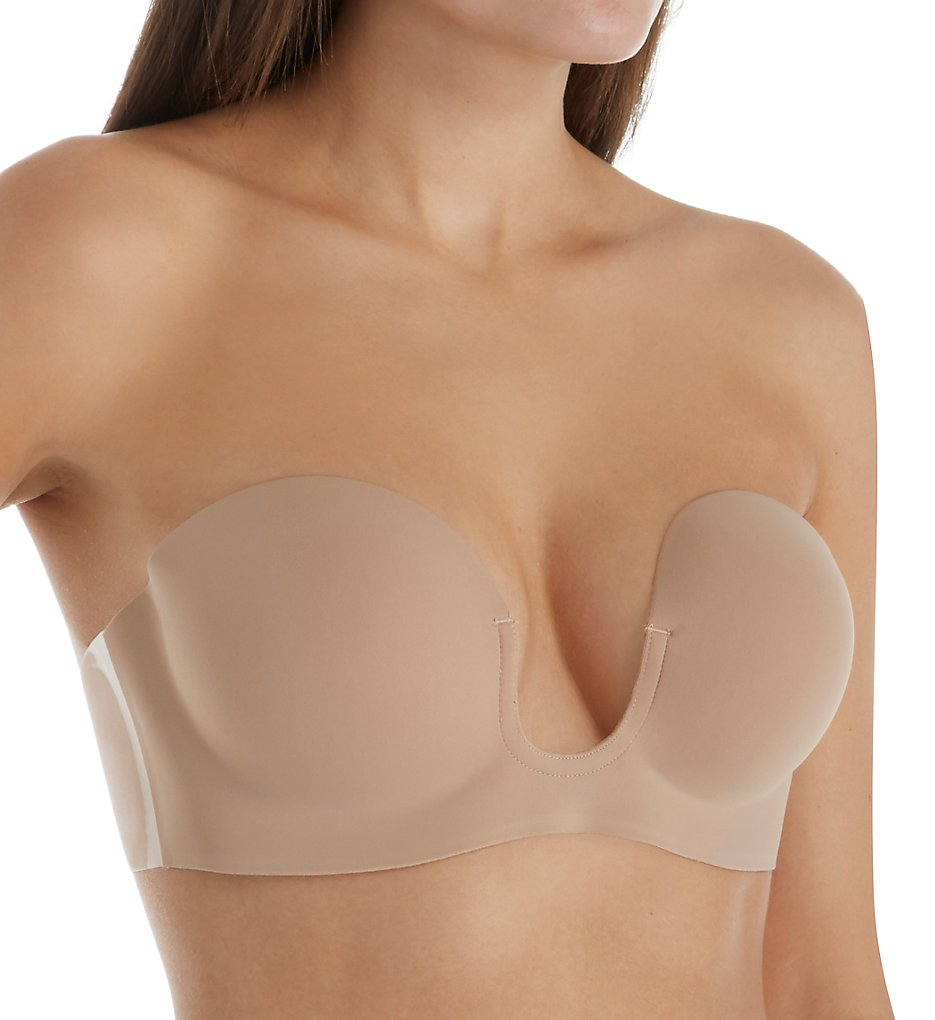 Fashion Forms 29710 Voluptuous U Plunge Backless Strapless Bra (Nude)