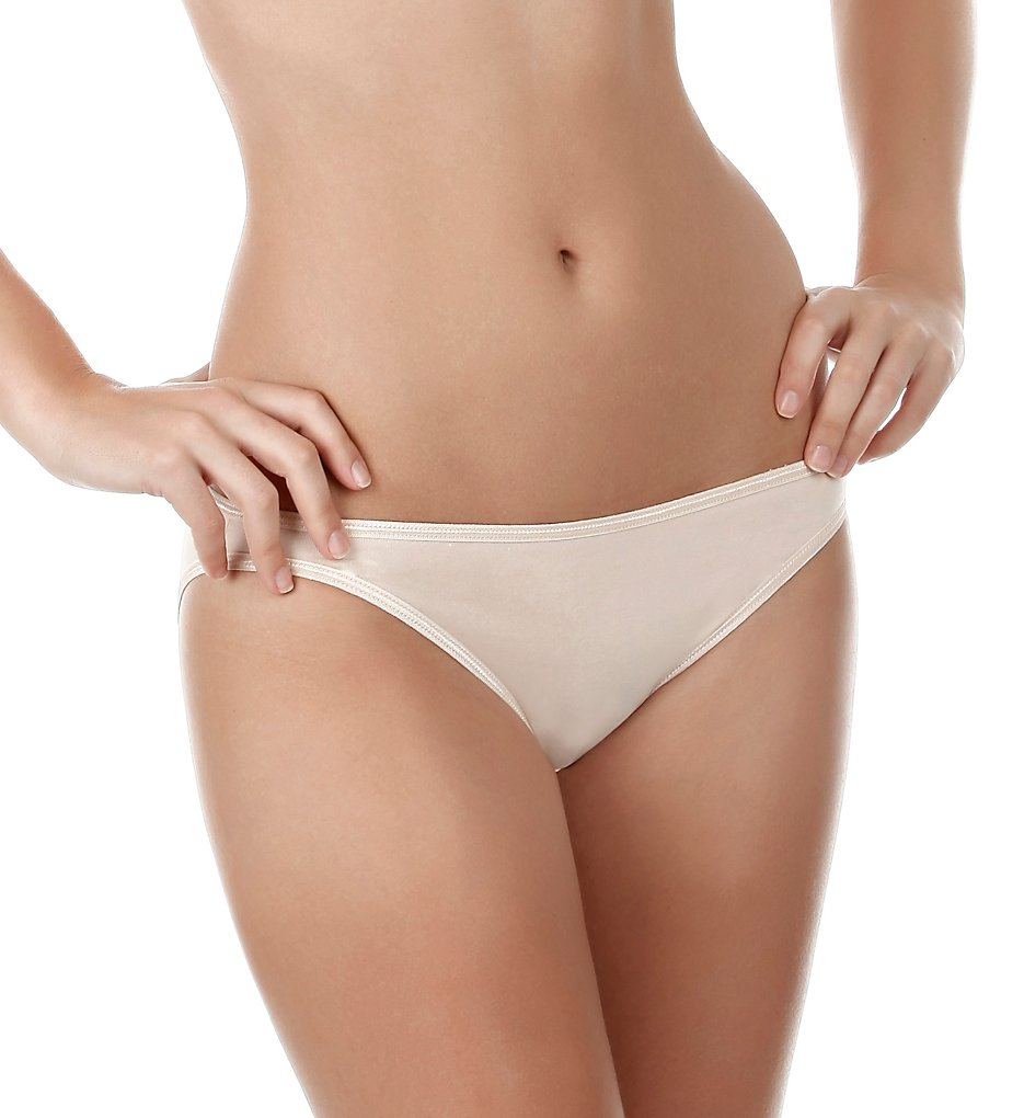 Felina >> Felina 601P So Smooth Low Rise Bikini Panties (Bare S)